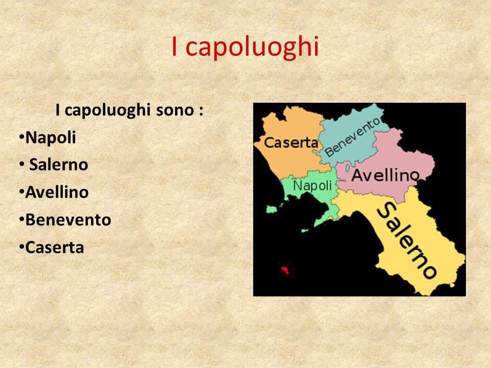 Napoli Napoli è il capoluogo di regione della Campania oltre a provincia.