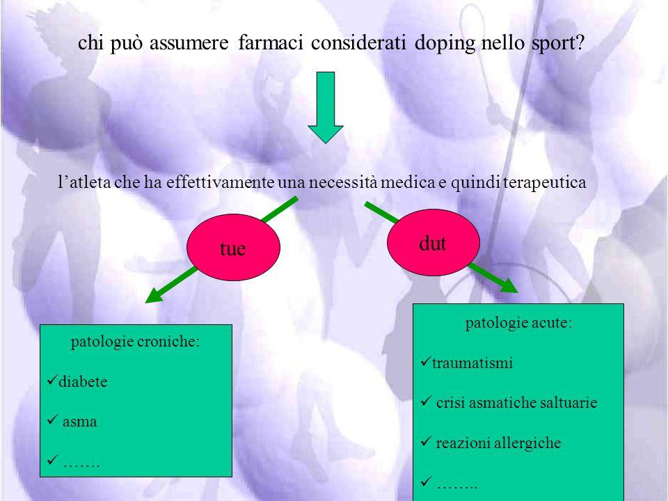 viene riconosciuto come unico elenco delle sostanze doping a cui riferirsi la lista (prohibited list) che la WADA pubblica ogni anno di conseguenza