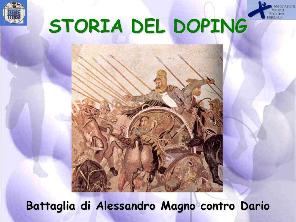STORIA DEL DOPING Galeno 130-200 D.C.
