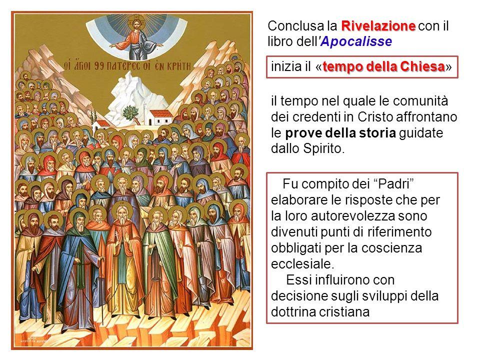 Fu compito dei Padri elaborare le risposte che per la loro autorevolezza sono divenuti punti di riferimento obbligati per la coscienza ecclesiale. Ess