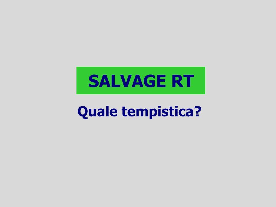 SALVAGE RT Quale tempistica?