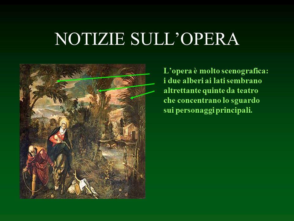 NOTIZIE SULLOPERA Lopera è molto scenografica: i due alberi ai lati sembrano altrettante quinte da teatro che concentrano lo sguardo sui personaggi pr