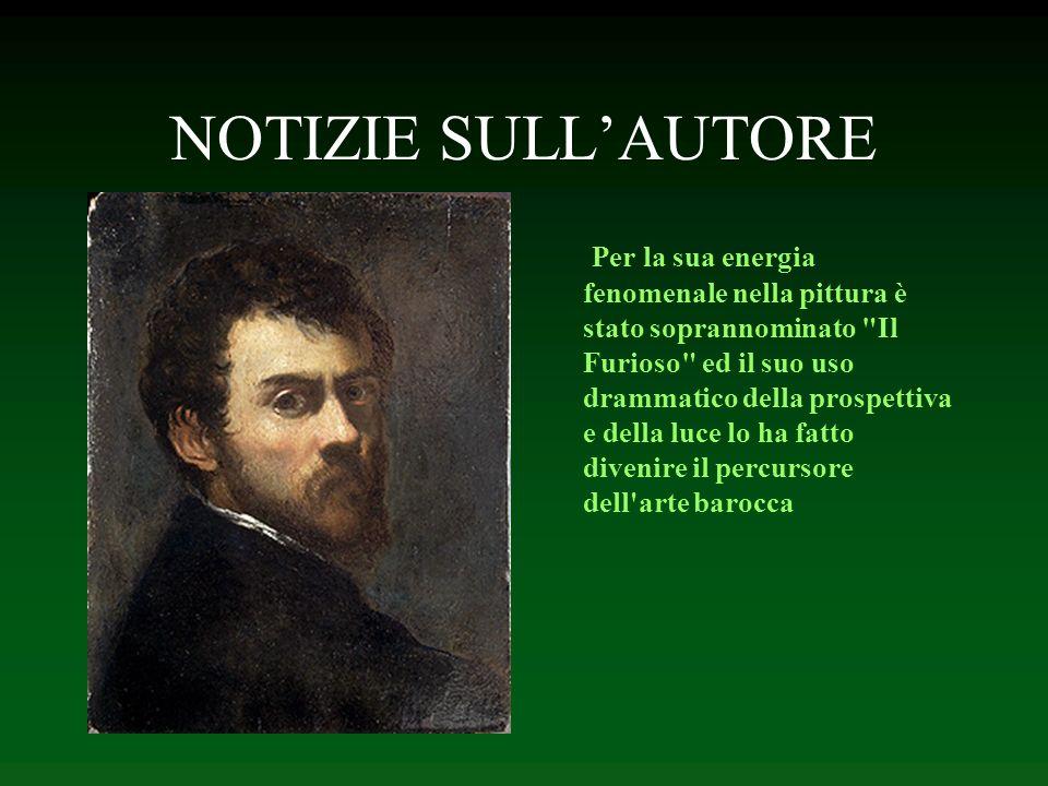 NOTIZIE SULLAUTORE Nella sua giovinezza fu anche nominato Jacopo Robusti, poiché il padre difese le porte di Padova in modo deciso (