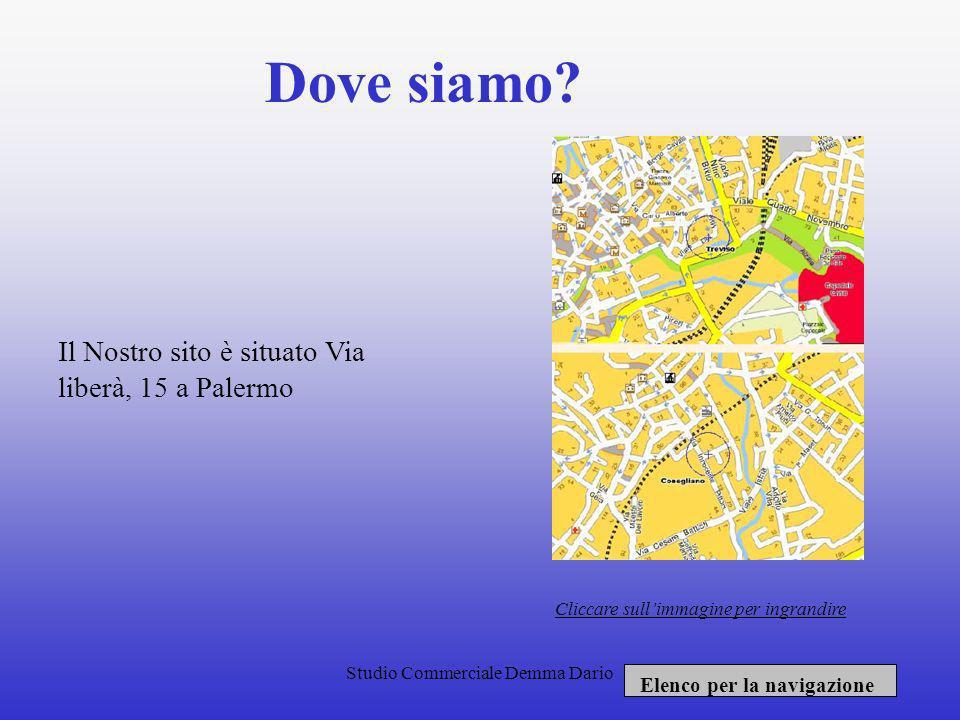 Studio Commerciale Demma Dario Servizi offerti: Il nostro sito offre una ottima: Consulenza fiscale relativa allimposta diretta indiretta e sostitutiv