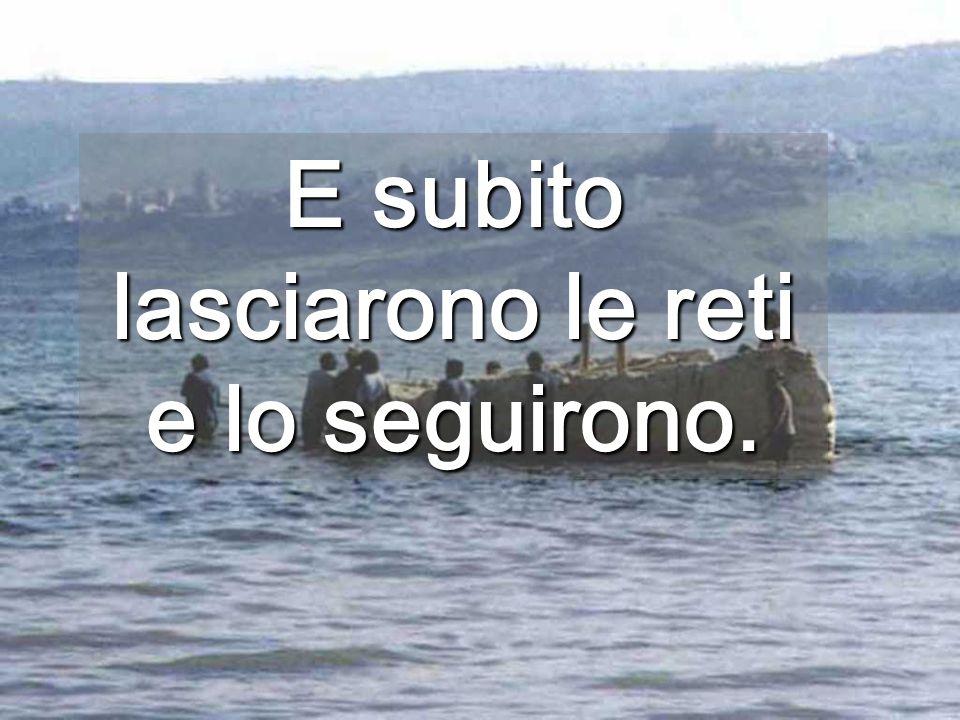 Per diventare pescatore di Gesù, devi impigliarti nella sua rete No cliccare Una scelta entusiasmante