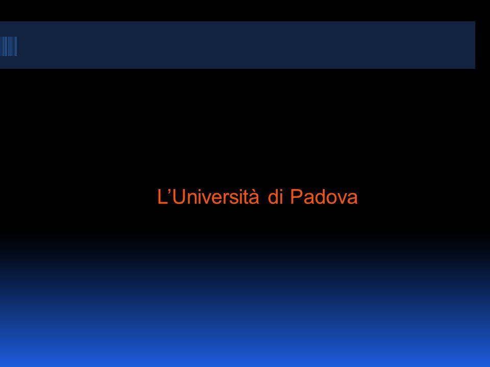LUniversità di Padova