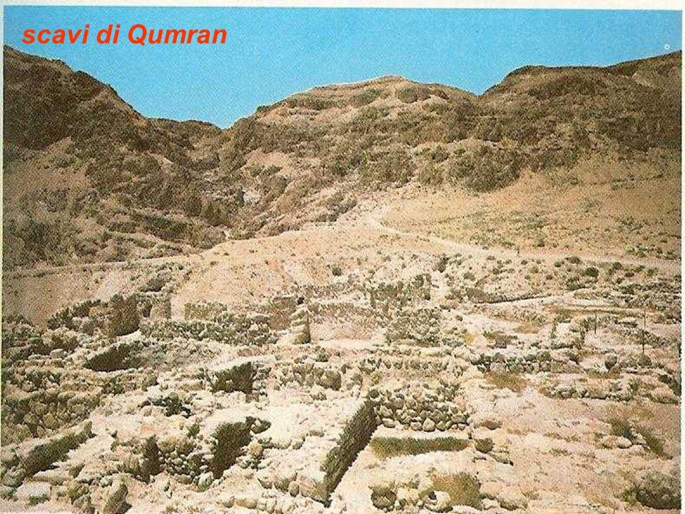 scavi di Qumran