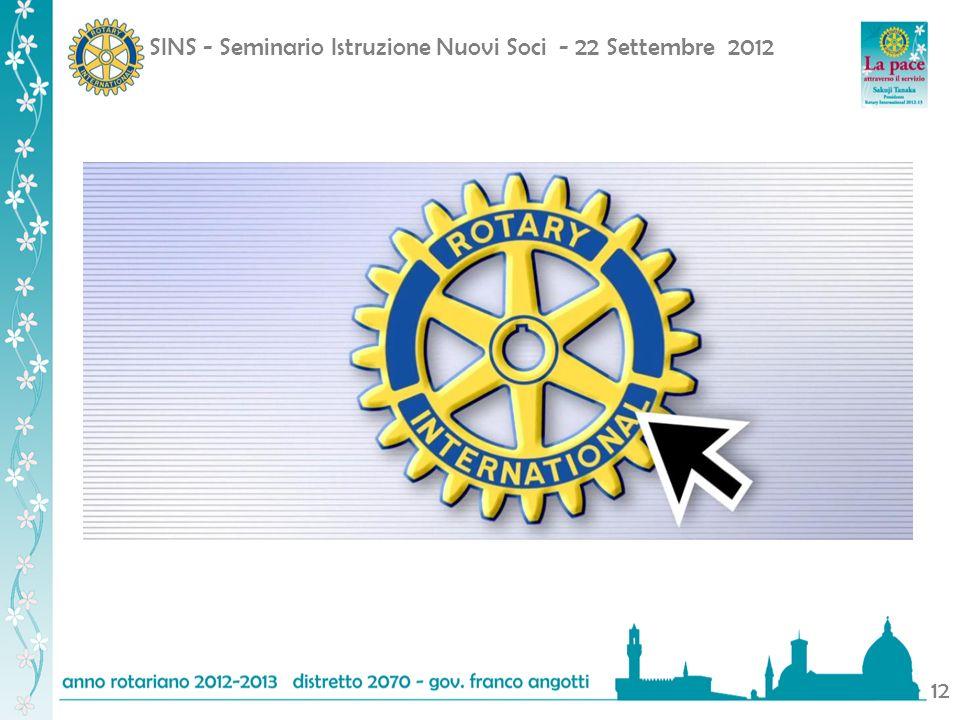 SINS - Seminario Istruzione Nuovi Soci - 22 Settembre 2012 12