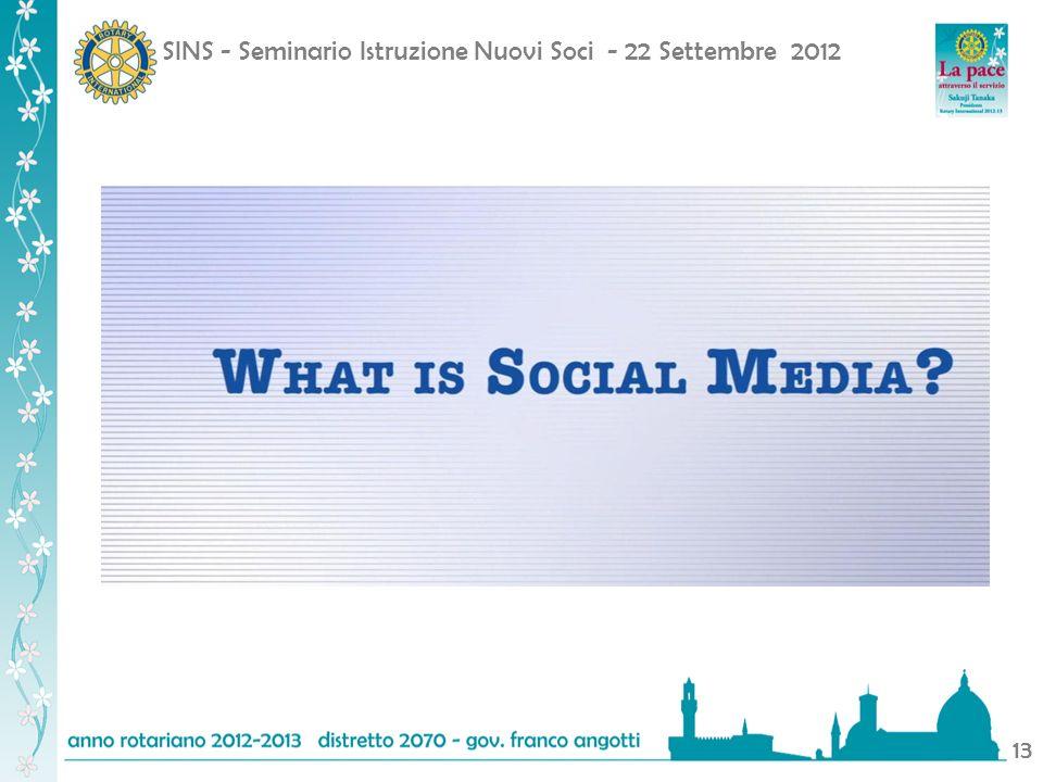 SINS - Seminario Istruzione Nuovi Soci - 22 Settembre 2012 13