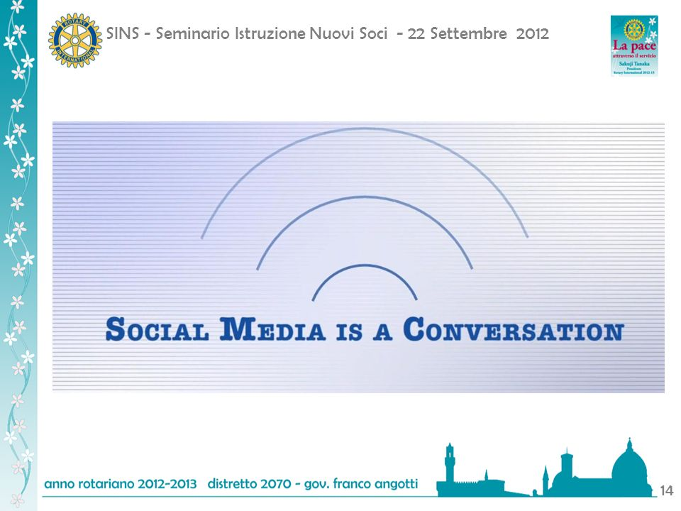 SINS - Seminario Istruzione Nuovi Soci - 22 Settembre 2012 14