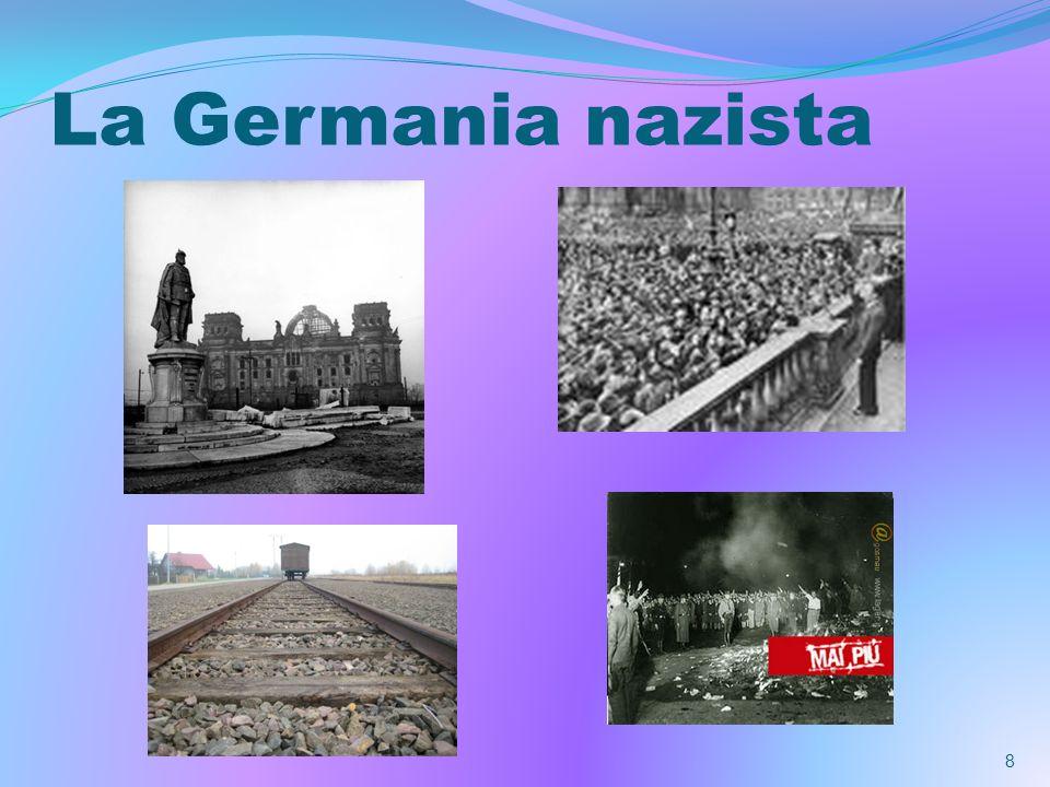 Luso scientifico della radio A differenza del fascismo,il nazismo preferisce subito la radio alla carta stampata, ritenendo la voce più immediata,vibrante e quindi più convincente per le masse.