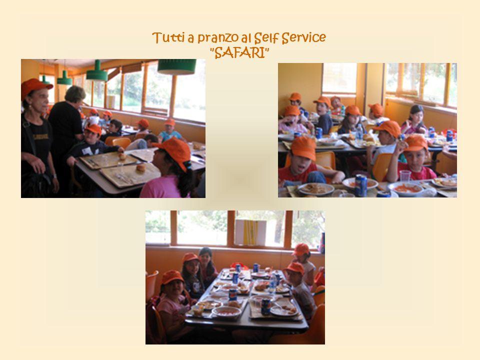 Tutti a pranzo al Self Service SAFARI