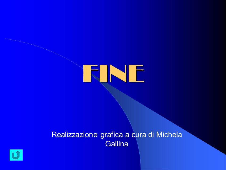 FINE Realizzazione grafica a cura di Michela Gallina