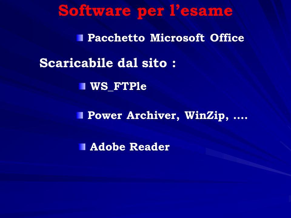 Fogli elettronici (Excel) Database (Access) Strumenti da utilizzare Entrambi i software fanno parte del pacchetto Microsoft Office