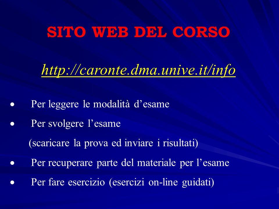E-mail : tosoni@unive.it (oggetto: Informatica, obbligatori Nome e Cognome) Organizzazione Portogruaro Pagina Web : http://venus.unive.it/tosoni http://venus.unive.it/tosoni Ricevimento : Aula Informatica, dopo le lezioni.