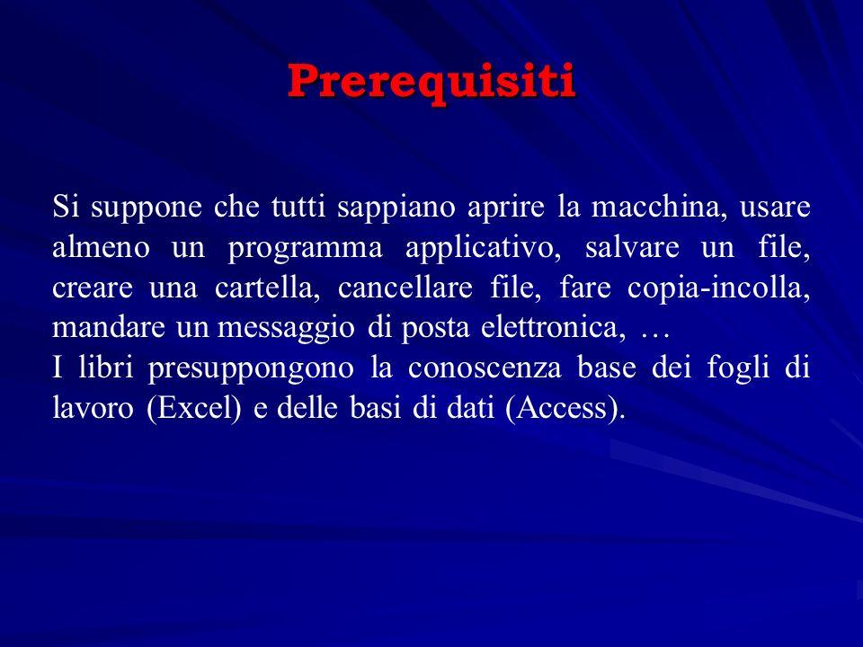 Letture integrative Renzoni, Guidi Informatica di base, APOGEO, 2004 Laganà, Righi, Romani Informatica, concetti e sperimentazioni, APOGEO, 2003 P.