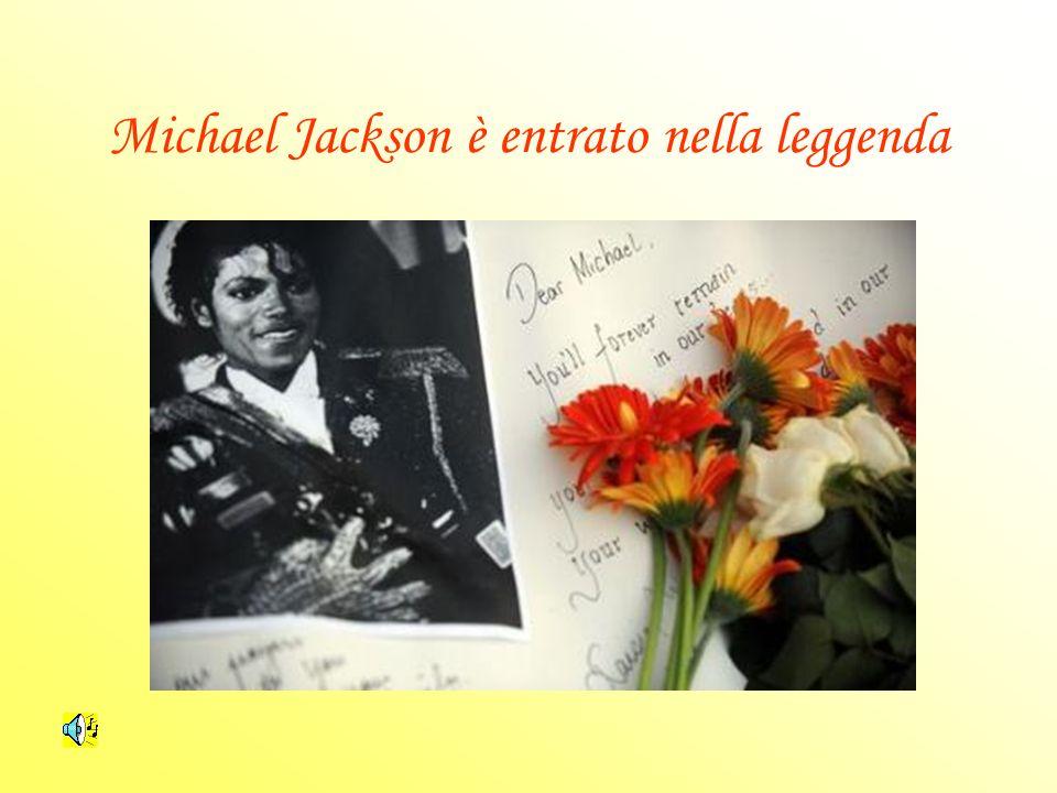 Michael Jackson è entrato nella leggenda