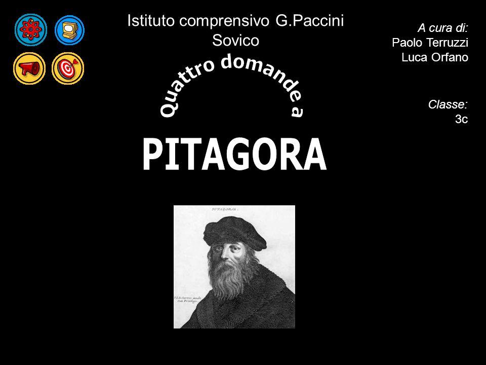 A cura di: Paolo Terruzzi Luca Orfano Istituto comprensivo G.Paccini Sovico Classe: 3c