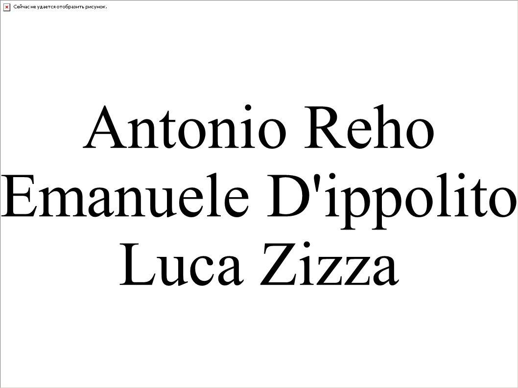 Antonio Reho Emanuele D'ippolito Luca Zizza