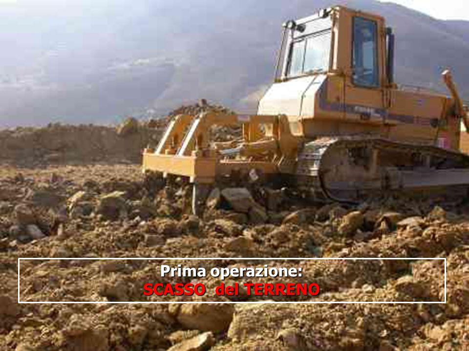 16/05/201413 Prima operazione: SCASSO del TERRENO