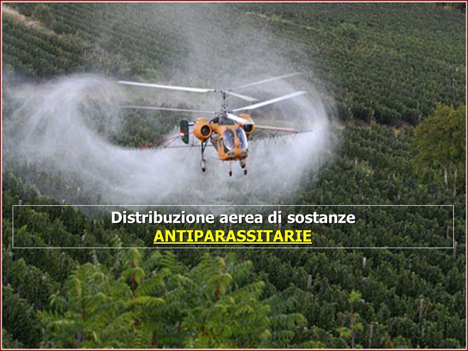 16/05/201424 Distribuzione aerea di sostanze ANTIPARASSITARIE