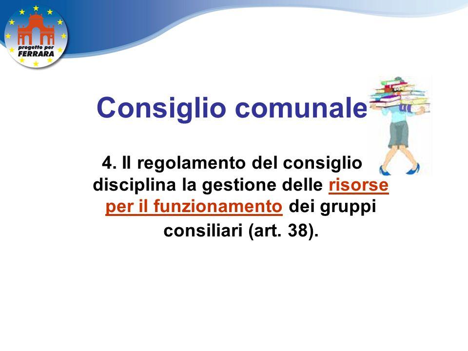 Consiglio comunale 4.