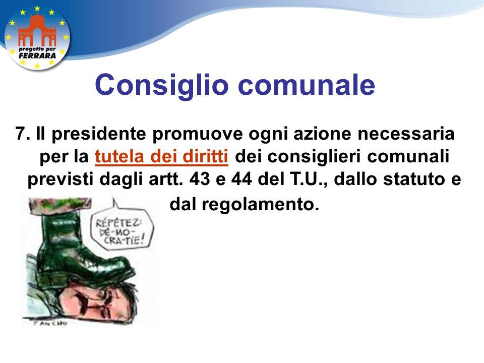 Consiglio comunale 7.