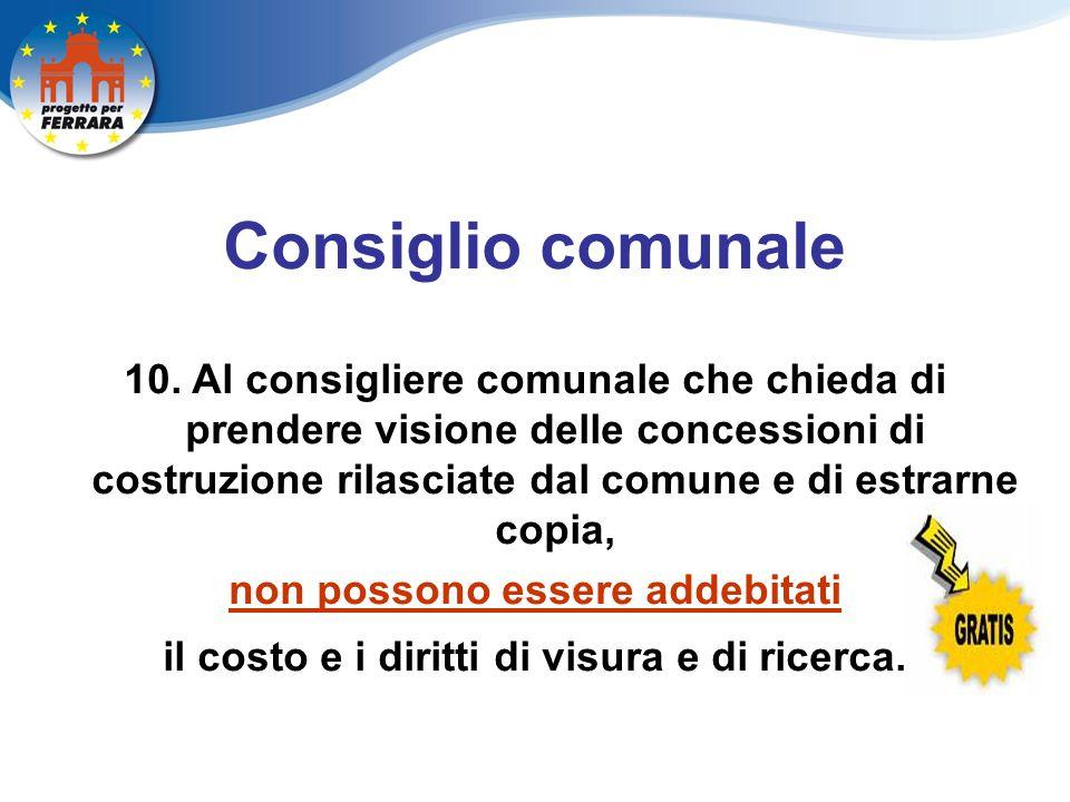 Consiglio comunale 10.