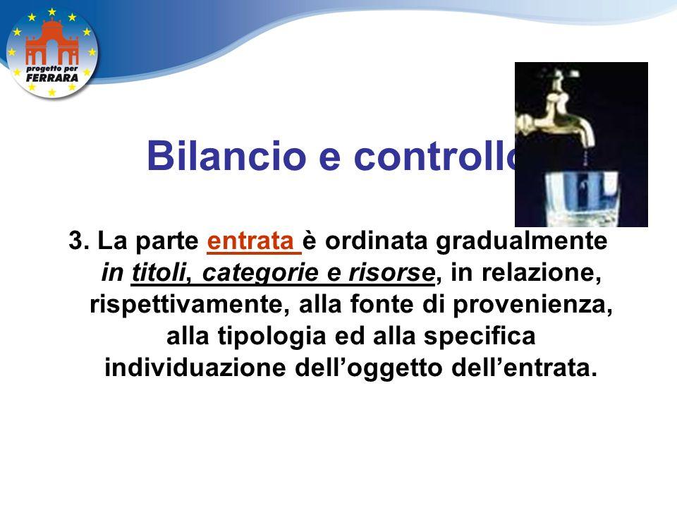 Bilancio e controllo 3.