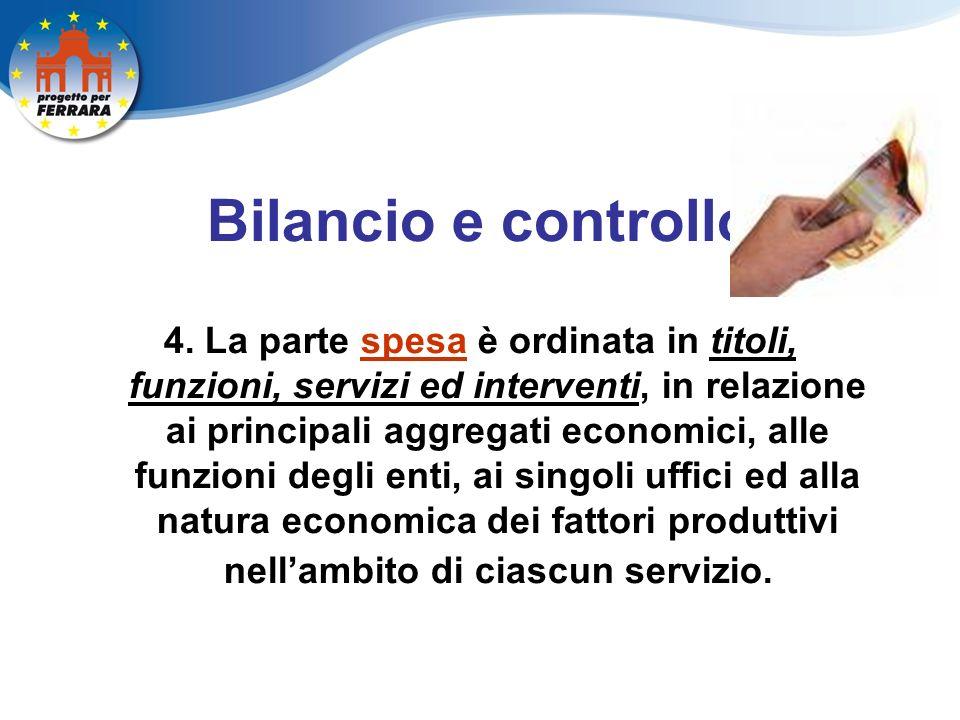 Bilancio e controllo 4.