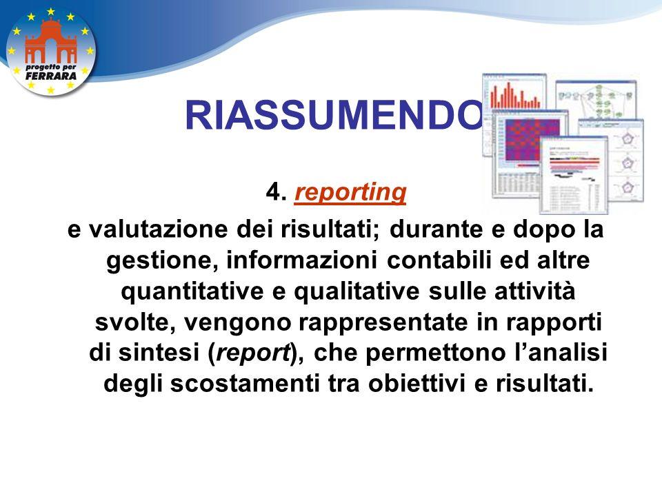 RIASSUMENDO 4.