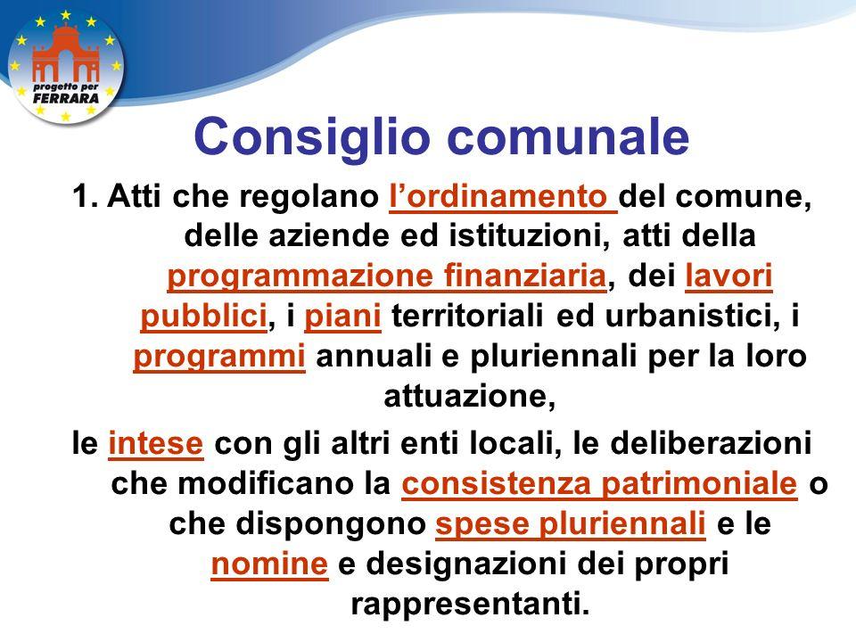 Consiglio comunale 1.