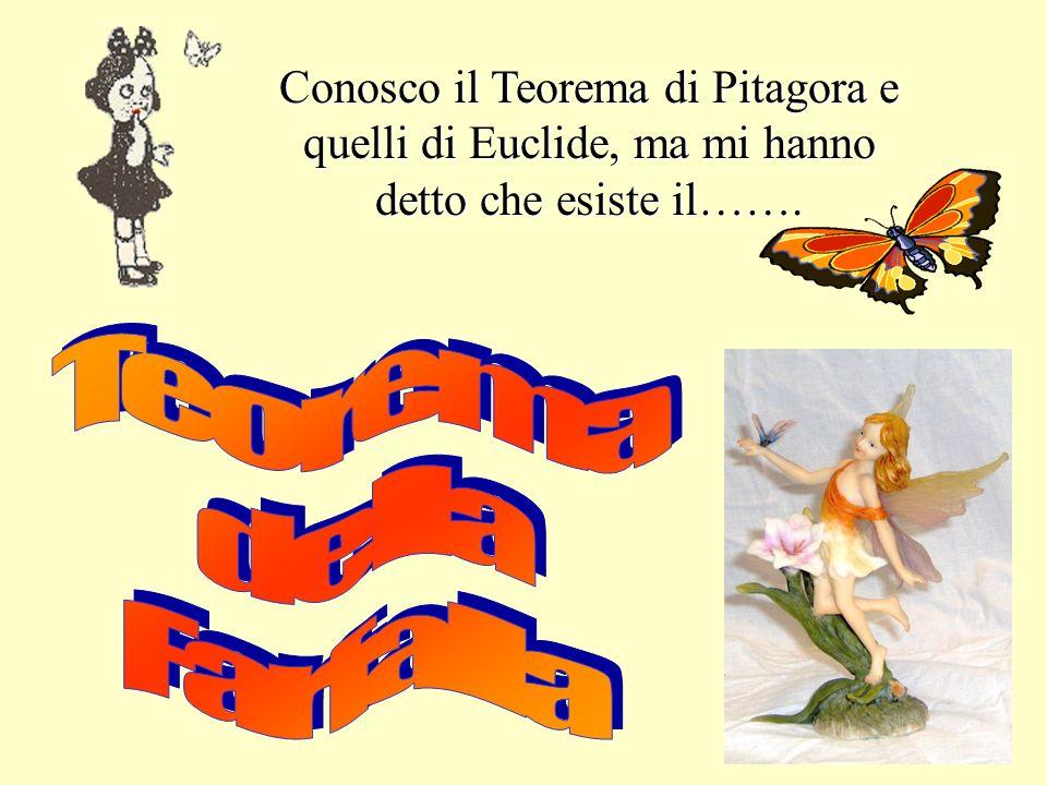 Conosco il Teorema di Pitagora e quelli di Euclide, ma mi hanno detto che esiste il…….