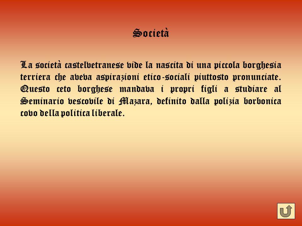 Benedetto Atria E lanima dei moti liberali del 48 e del 60 a Castelvetrano.