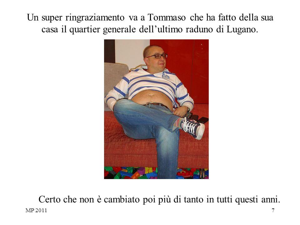 MP 20117 Un super ringraziamento va a Tommaso che ha fatto della sua casa il quartier generale dellultimo raduno di Lugano.