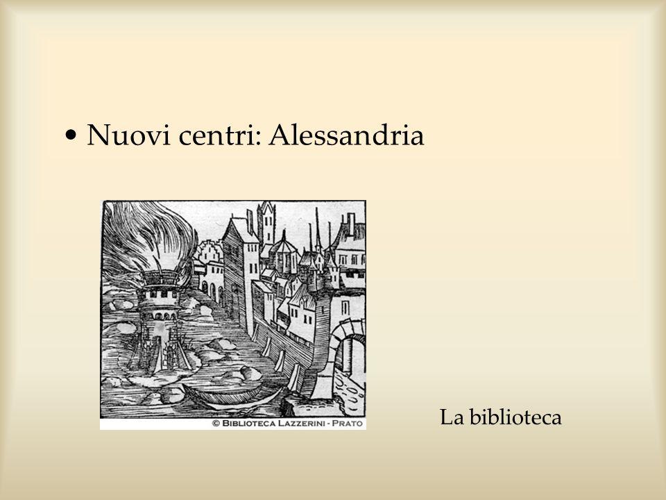 Nuovi centri: Alessandria La biblioteca