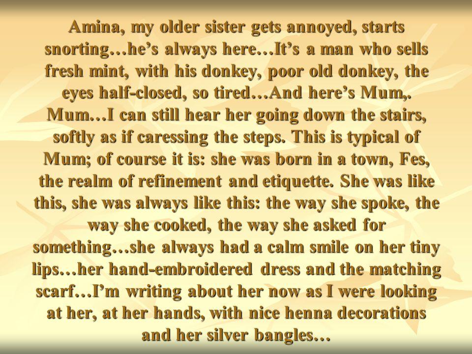 BISMILLAH RAHMANI RAHIVE Così cominciano i racconti nella cultura araba, islamica, e vuol dire IN NOME DI ALLAH MISERICORDIOSO.