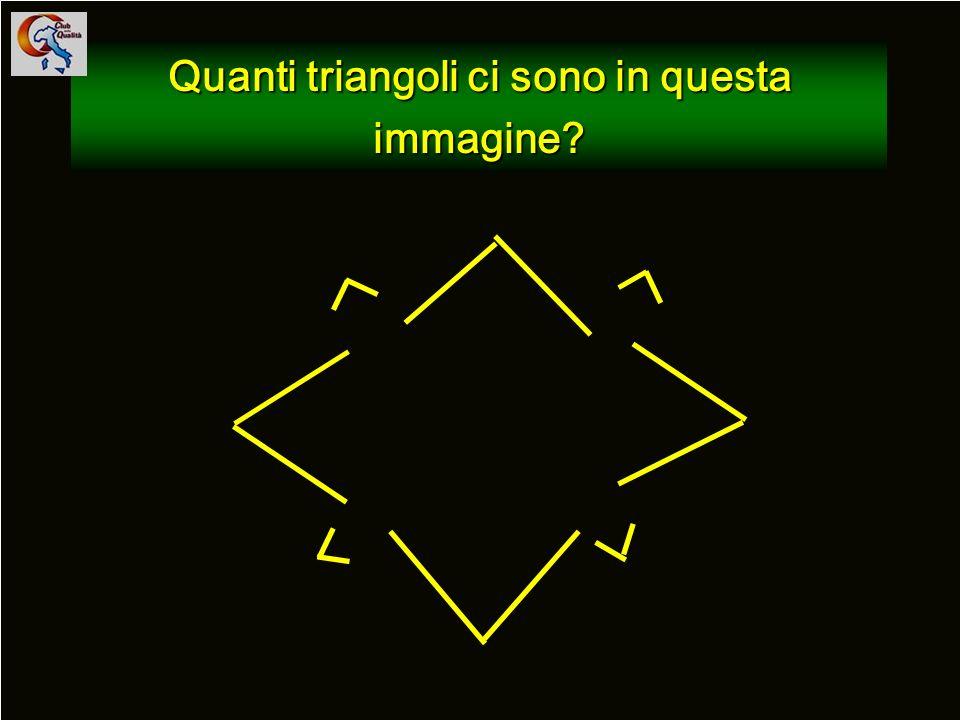 62 Quanti triangoli ci sono in questa immagine?