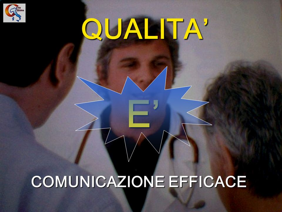 8 UNA EFFICACE COMUNICAZIONERAPPRESENTA ALMENO IL 50% DEL S.G.Q.