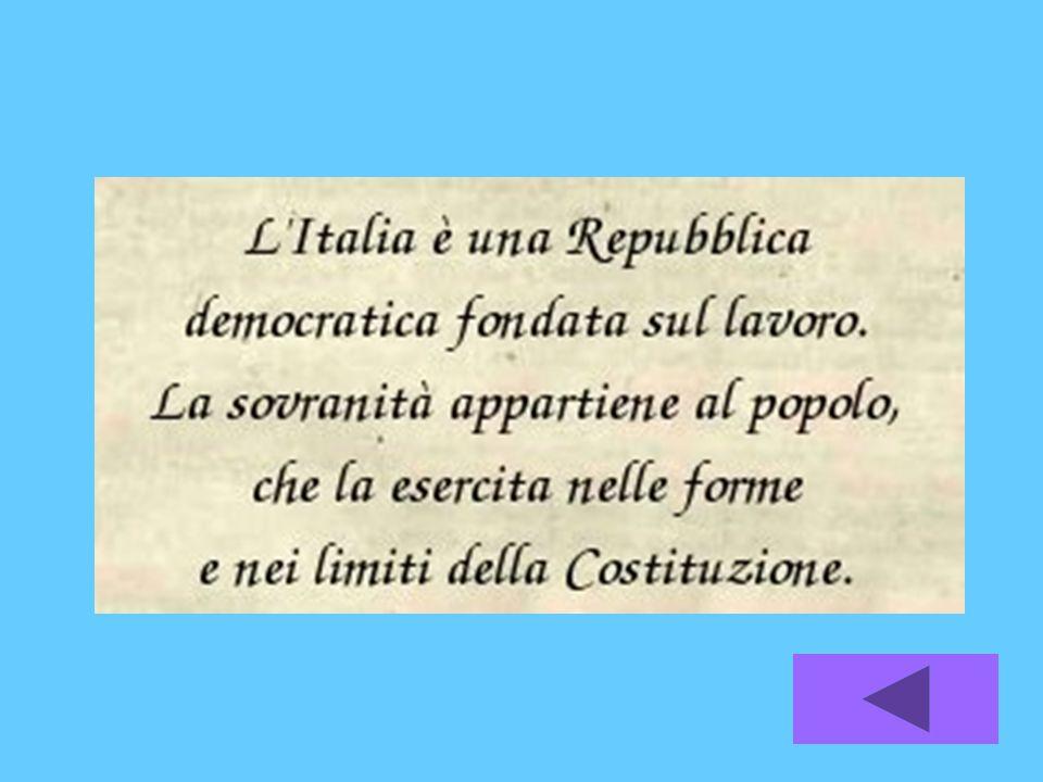 DIRITTI E DOVERI La Repubblica garantisce i diritti inviolabili e richiede ladempimento dei doveri inderogabili di solidarietà politica, economica e sociale.