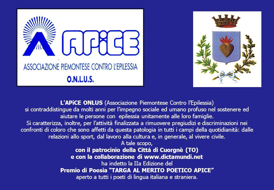 LAPiCE ONLUS (Associazione Piemontese Contro lEpilessia) si contraddistingue da molti anni per limpegno sociale ed umano profuso nel sostenere ed aiut