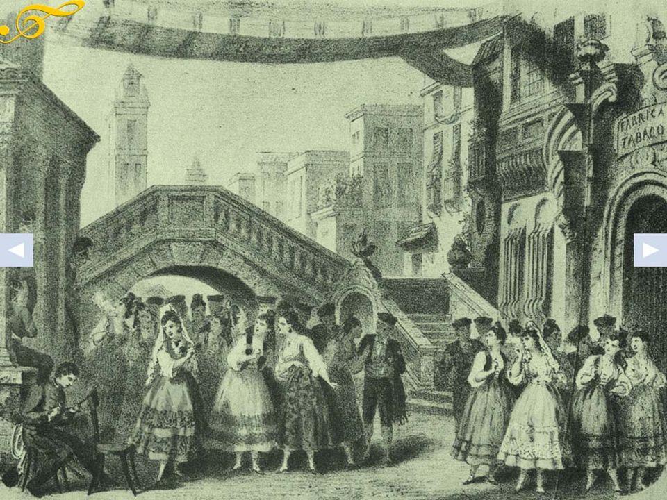 La trama Nella piazza centrale di Siviglia la contadina Micaëla cerca il brigadiere Don José per consegnargli dei soldi e alcune lettere della madre.