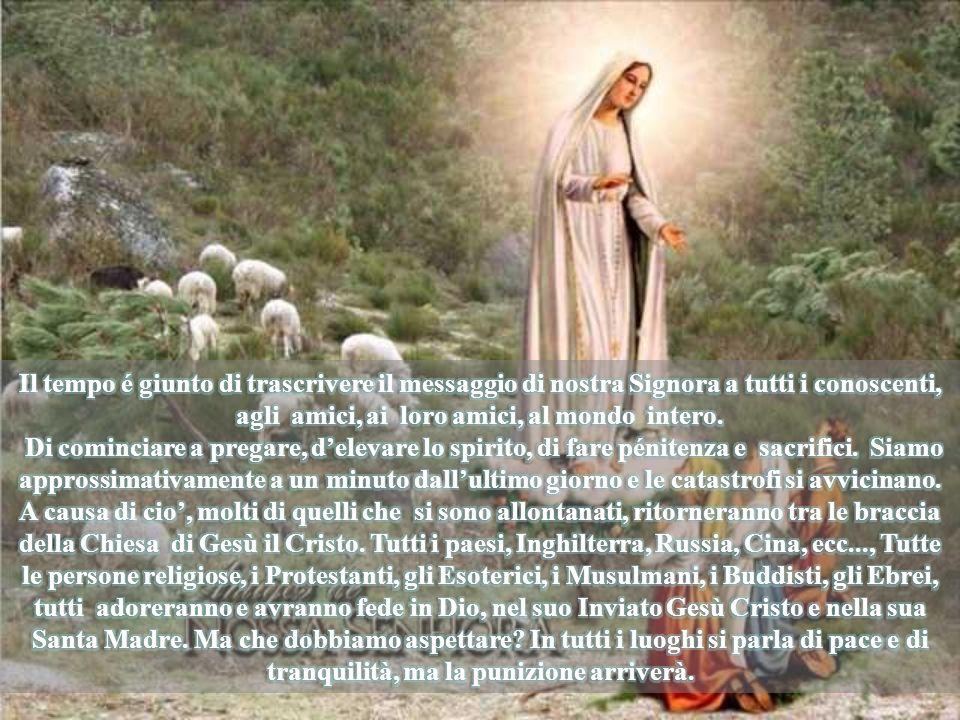 Il padre Augustín, residente a Fátima, ha detto che il Papa Paolo VI gli ha dato la autorizzazione per visitare suor Lucia che,religiosa di clausura, non poteva ne uscire ne ricevere visite.