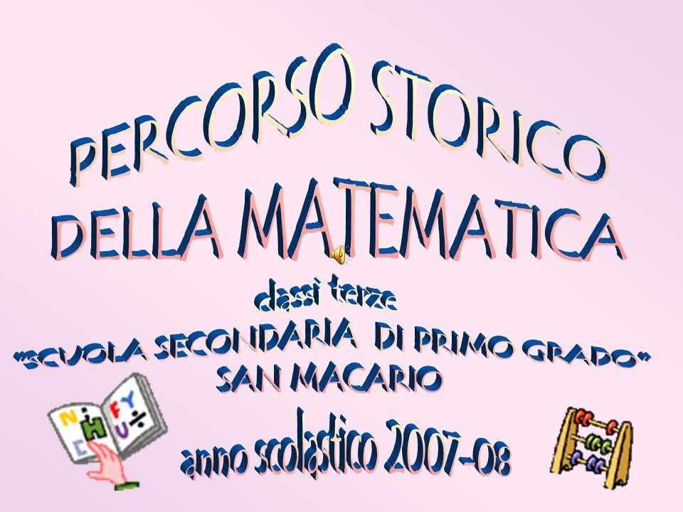 1400-1500 Luca Pacioli pubblica (1494) la Summa de arithmetica, geometria, proportioni e proportionalità, primo trattato generale di aritmetica e algebra, con un accenno al calcolo delle probabilità e ai logaritmi.