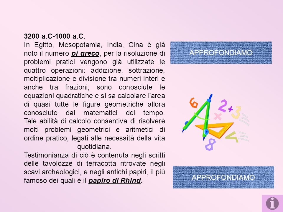 Il calcolo con i numeri irrazionali si deve ai matematici: Nacque il 6 ottobre 1831 e morì a Braunschweig il 12 febbraio 1916.