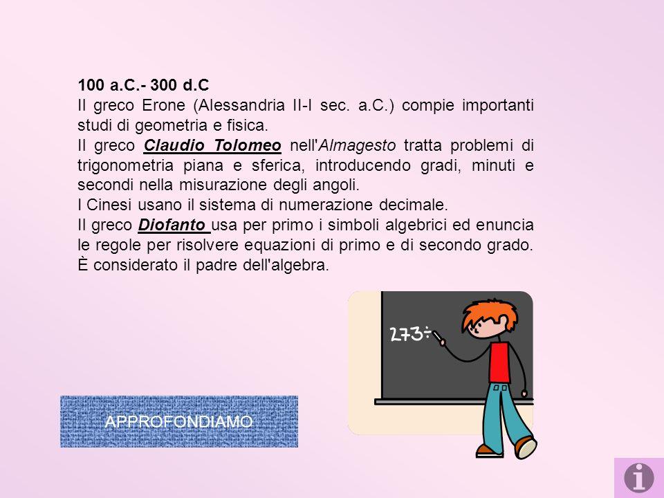 PERSONAGGI : Archimede fu matematico, fisico, inventore di grandissima genialità.