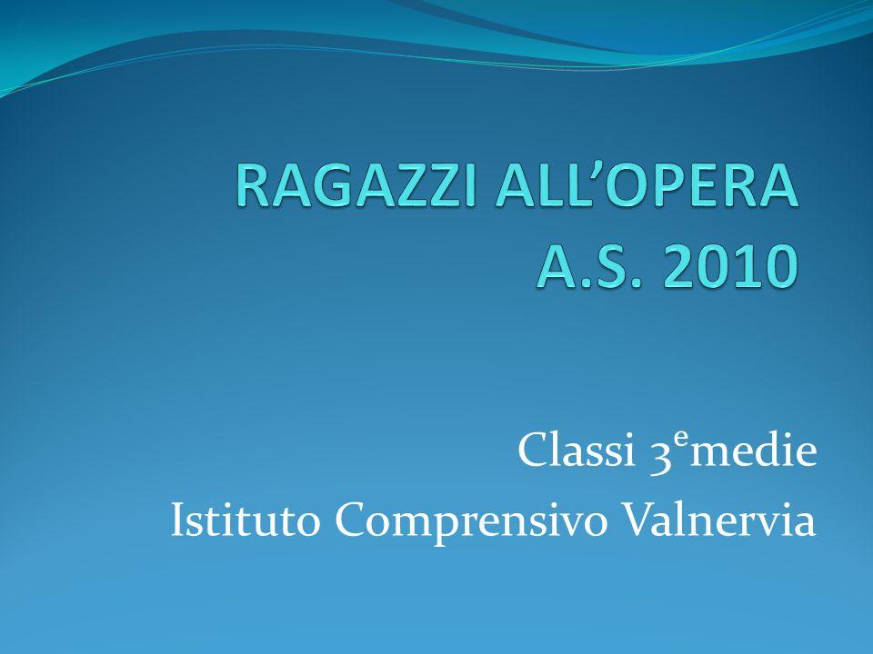 Classi 3medie Istituto Comprensivo Valnervia