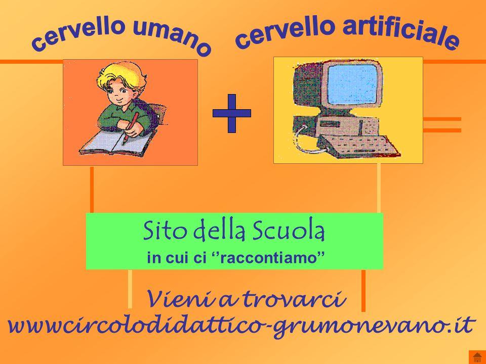 Sito della Scuola in cui ci raccontiamo Vieni a trovarci wwwcircolodidattico-grumonevano.it