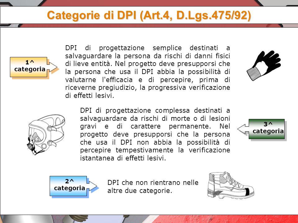 Lart 75 ribadisce un concetto importante I DPI debbono essere usati quando i rischi non possono essere evitati o ridotti da misure tecniche di prevenz