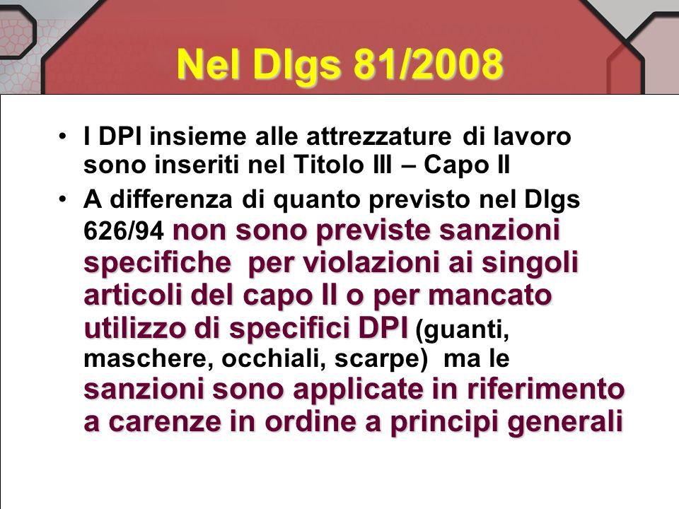 Infine abbiamo tra gli adempimenti senza termini temporali DM Welfare e Sviluppo Economico sentita CCP su criteri individuazione ed uso DPI (art 79 co